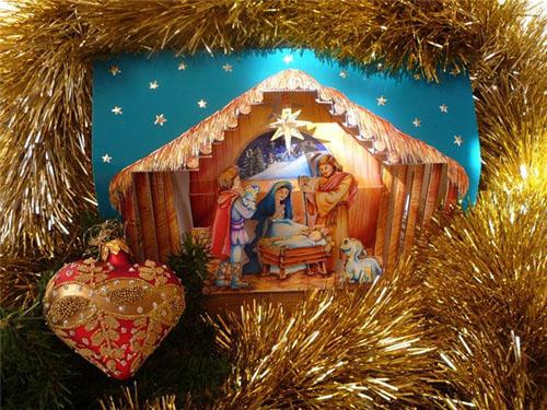 Еще один популярный рождественский гимнWhiteChristmas