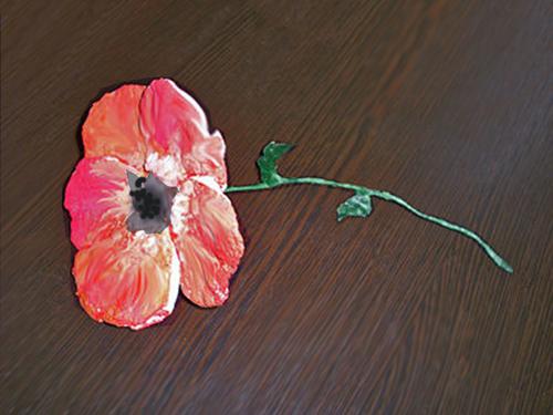 Подарок маме своими руками: поделки-цветы из ватных дисков
