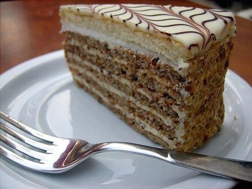 Торт на Новый год: торт эстерхази