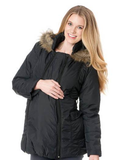 Зимняя одежда для беременных: модные куртки и пуховики, фото