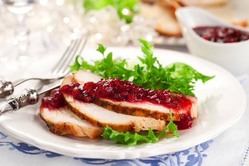Как приготовить романтический ужин на 14 февраля для любимого - индейка под клюквенным соусом