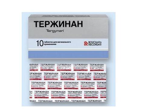 тержинан свечи инструкция цена украина отзывы