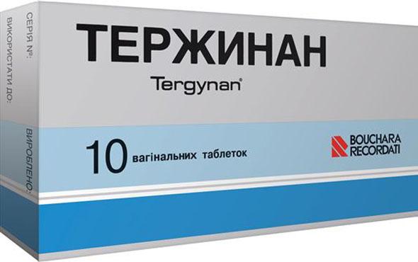 Тержинан: инструкция по применению, фото, отзывы, цены