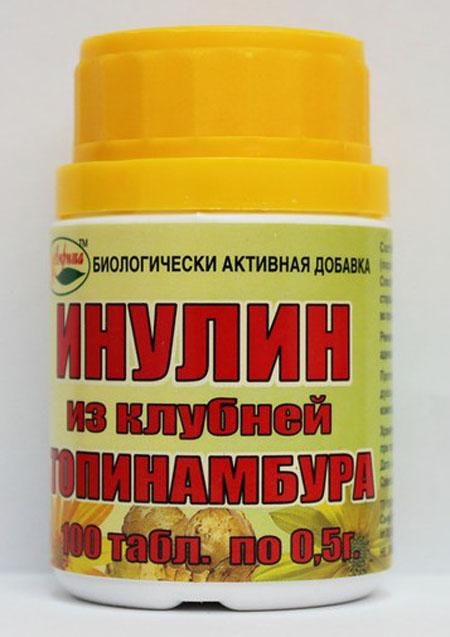 таблетки топинамбура инструкция по применению