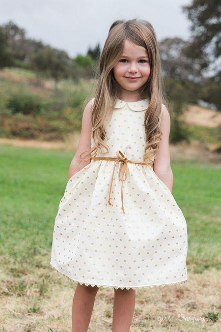 Платья детские для сада