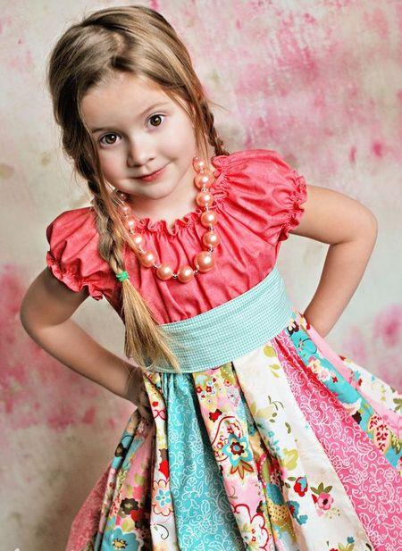 Детские платья оригинальные