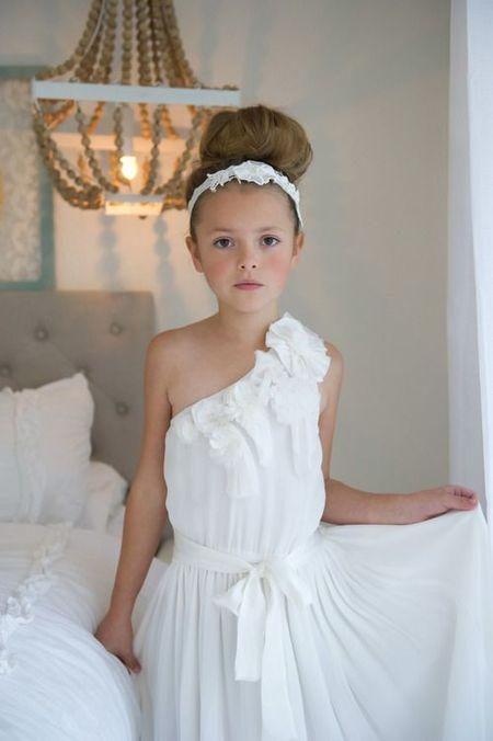 Детские платье в греческом стиле