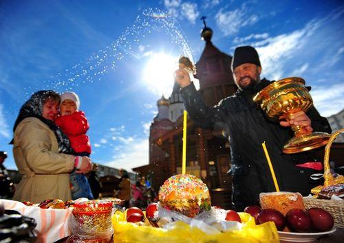 фото пасхи празднование