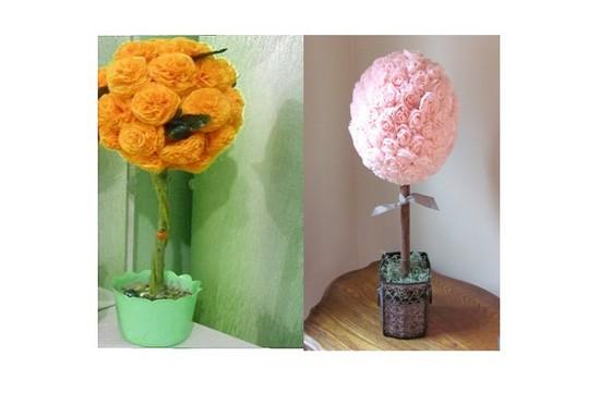 Цветы из салфеток своими руками: пошаговое руководство