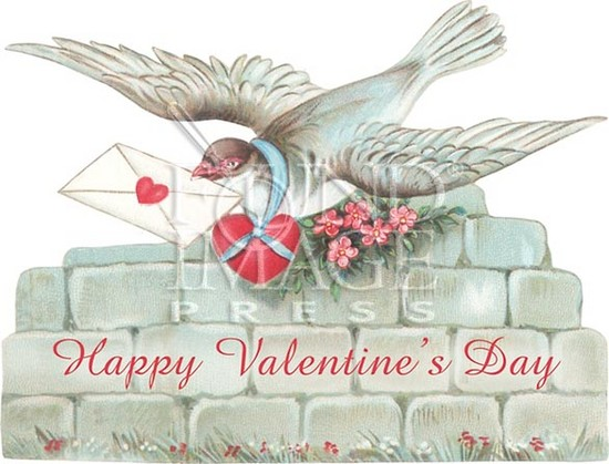 Плакат на День святого Валентина
