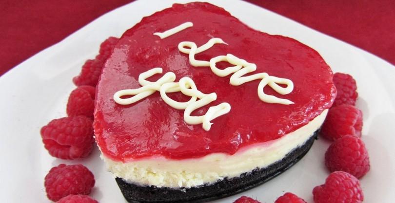 Рецепты ко дню Святого Валентина