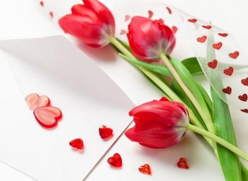 Поздравления с цветами стихи