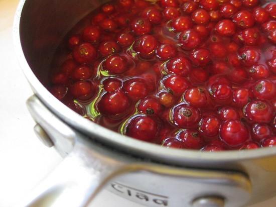 как приготовить варенье из красной смородины без воды
