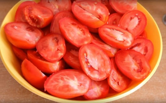 помидоры в собственном соку рецепт из томатной пасты