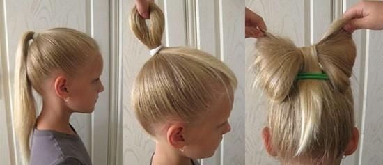 Прически на средние волосы на 1 сентября 4 класс
