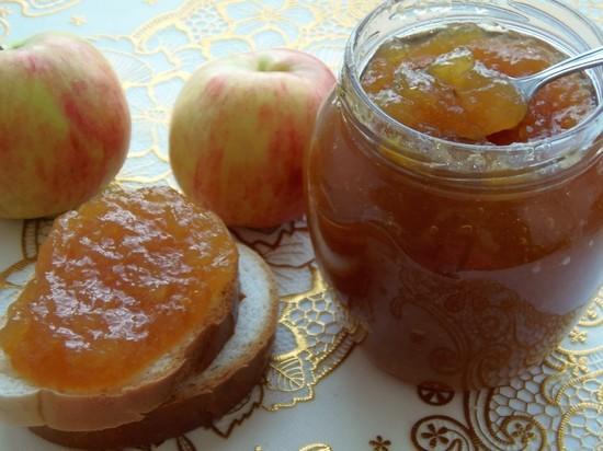 яблоки в салатах на зиму рецепты