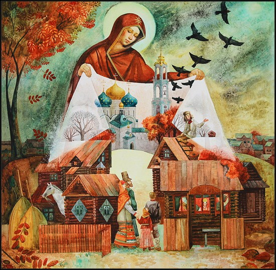 Какого числа праздник Покрова Пресвятой Богородицы в 2016 году — приметы погоды и обряды, молитвы и стихи к церковному празднику