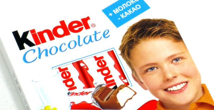 В шоколаде Киндер найдены опасные вещества, способные вызвать рак