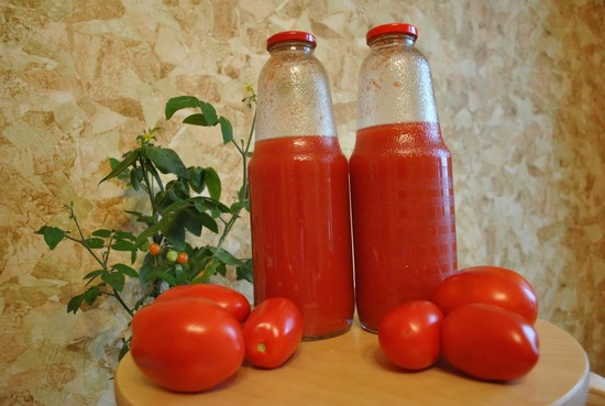 Рецепты томатного сока на зиму