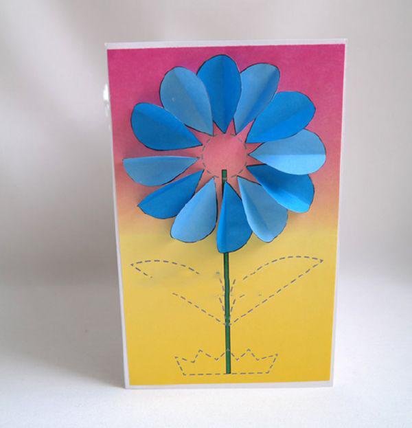 Подделка открытка маме на день рождения