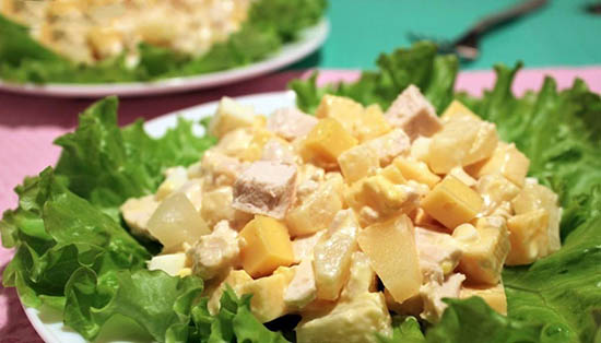 Новогодние салаты  – рецепты