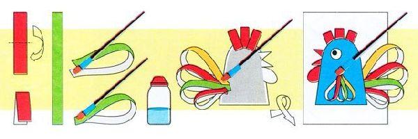 petux-svoimi-rukami-120 Год Петуха поделки своими руками из ткани, бумаги, сшить символ года