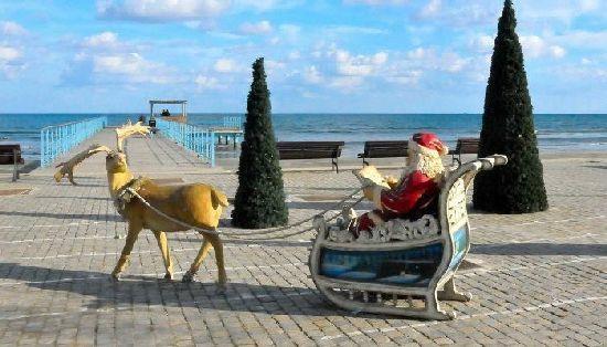 Погода на Новый год 2017 – прогноз в Италии, Праге, ОАЭ, Тунисе, на Кипре, Бали