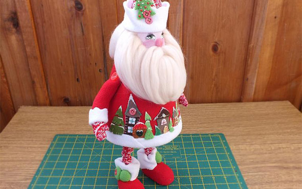 Игрушка Дед Мороз своими руками из подручных материалов – лучшие мастер-классы с пошаговыми фото. Как сшить костюм Деда Мороза, видео