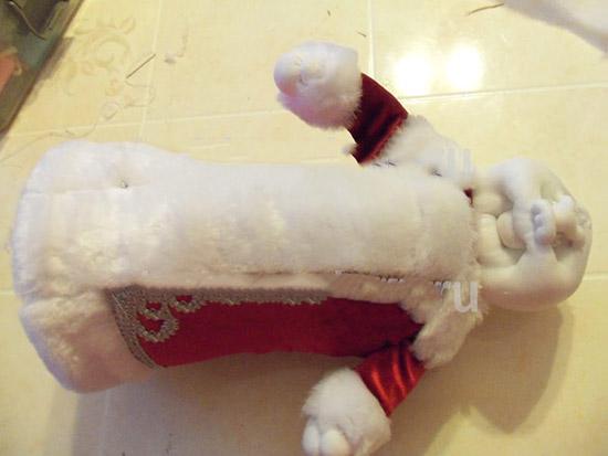 ded-moroz-svoimi-rukami-22 Дед Мороз СВОИМИ РУКАМИ (43 поделки 22 инструкции).