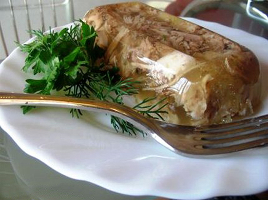 холодец с желатином рецепт с фото