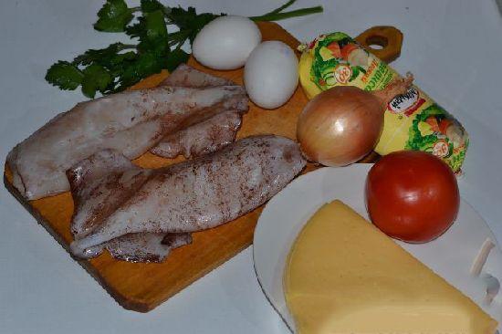 Салат с кальмарами – рецепт пошаговый с фото и видео, очень вкусный и простой. Как приготовить салат из кальмаров - с яйцом, крабовыми палочками, огурцом, красной икрой, без майонеза