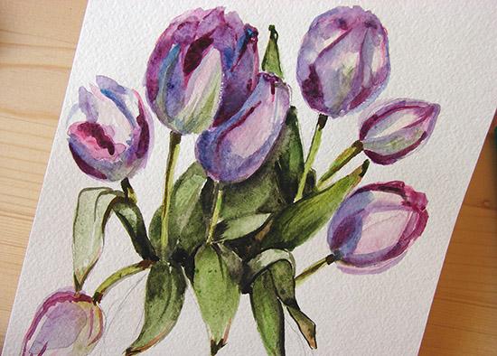 Рисунок цветок для детей