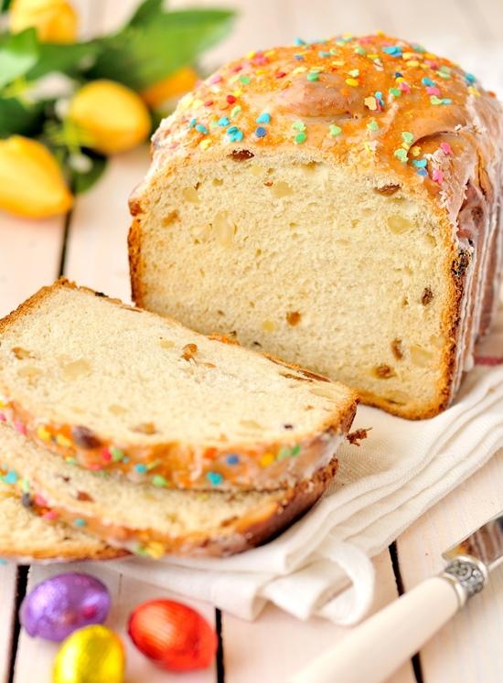 Кулич в хлебопечке