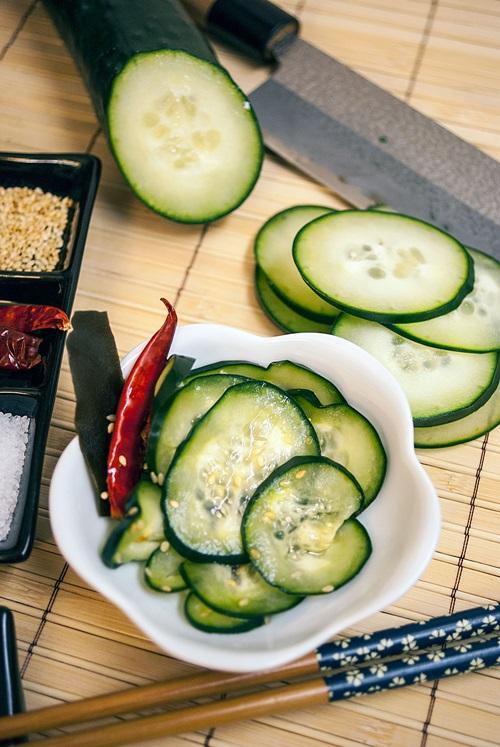 рецепт вкусных малосольных огурцов быстрого приготовления кипятком