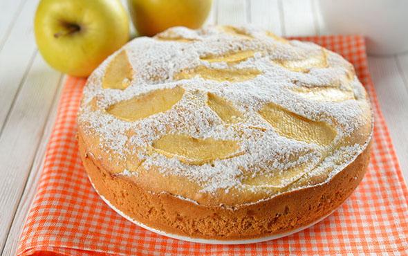 рецепт шарлотки с яблоками и творогом простой и вкусный с фото