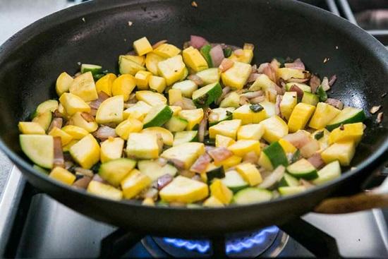 Тушеные кабачки - рецепт