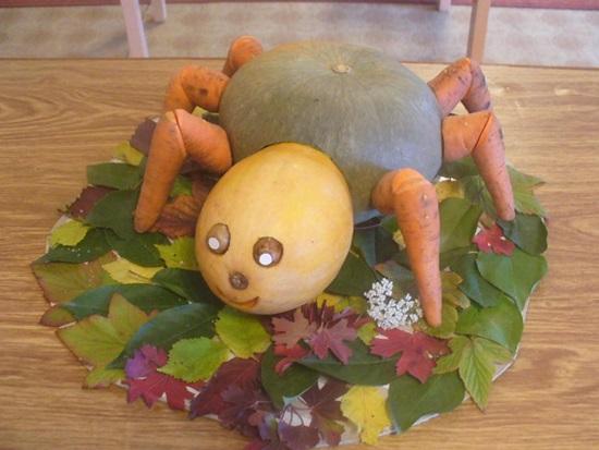 Как сделать поделки овощей в детского сада