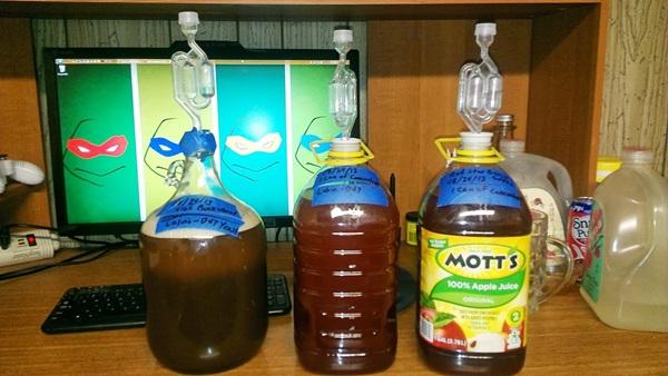 Как приготовить простое яблочное вино в домашних  83