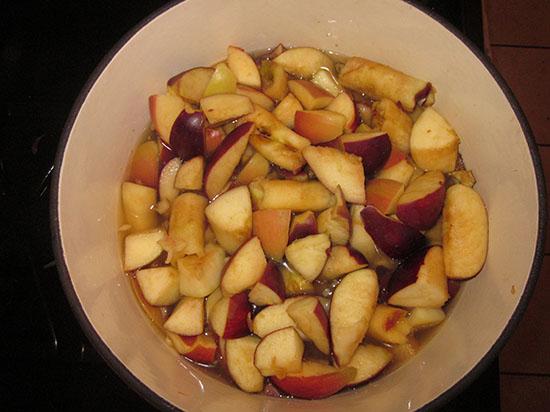 Яблочный сок на зиму в домашних условиях