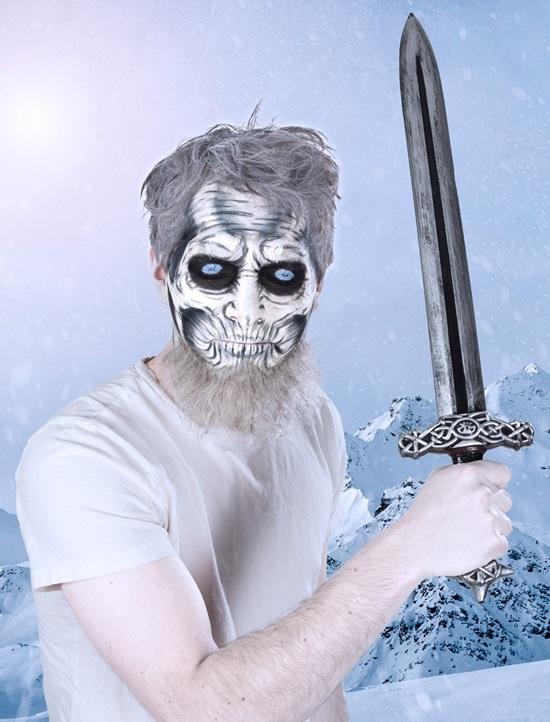 Современный грим на Хэллоуин