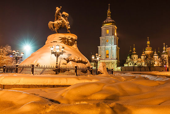 Какой будет зима 2017-2018 года в России и Украине: самый точный прогноз Гидрометцентра