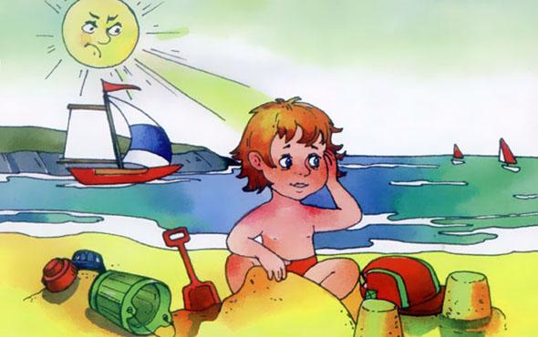 Солнечный удар у ребёнка: симптомы и лечение