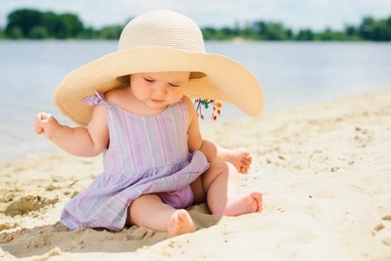 Тепловой удар у ребёнка