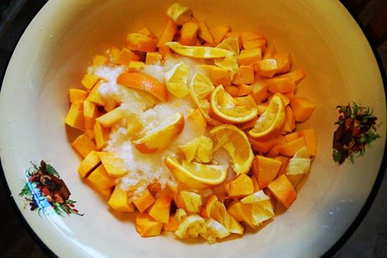 тыква в духовке сладкая рецепт с фото пошагово
