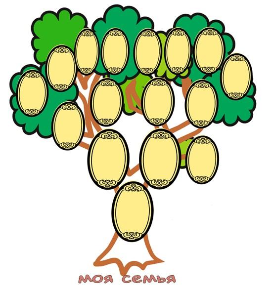 Как нарисовать дерево карандашом детям