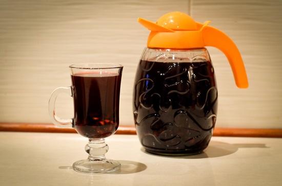 сок из черноплодки на зиму быстро в картинках рецепт