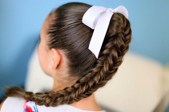 Фотоподборка: лучшие школьные прически на каждый день