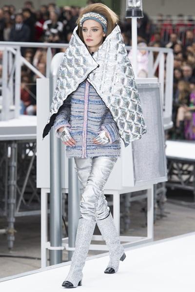 Модный показ от Chanel: осень-зима 2017-2018