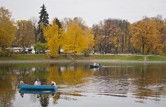 Погода в Москве и Московской области на октябрь 2017 года