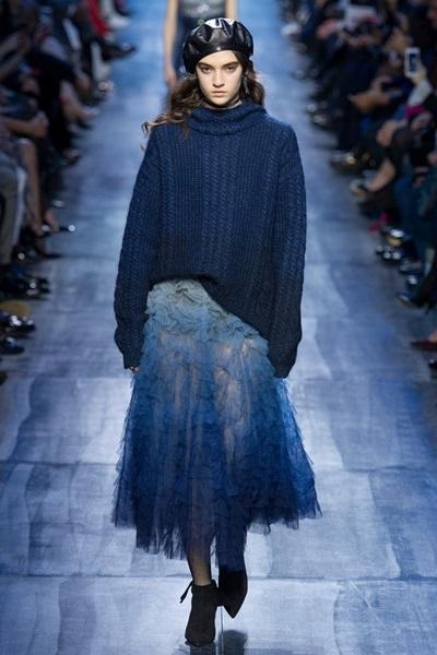 Коллекция Christian Dior: осень-зима 2017-2018